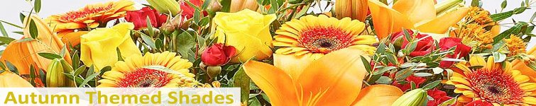 Seasonal Shades Flower Bouquet's