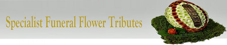 Special Funeral Flower Shaped Tributes