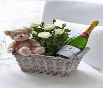 Celebratory Baby Boy Gift Basket  Code: C01051CS