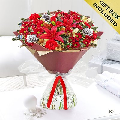 Flower Christmas Cracker Hand-tied Code: X80051RS