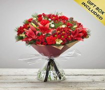 Extra Large Christmas Flower Cracker Flower Hand-tied Code: X80053RS