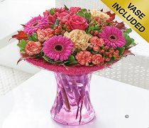 Indian Summer Vase Arrangement Code: JGF81901MS  Local Delivery & Collection Only