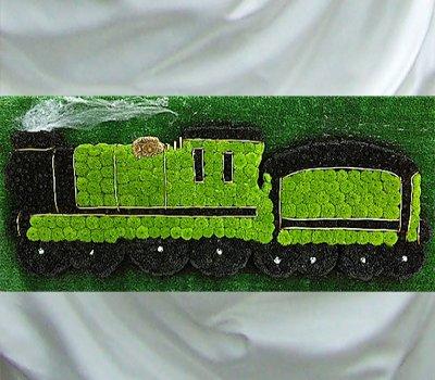 Steam Train Funeral Flower Tribute Code Jgf9748st Local