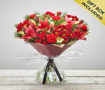 Large Christmas Flower Cracker Hand-tied  Code: X80052RS