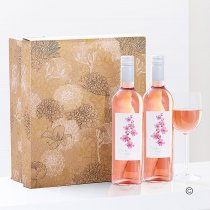 Californian Zinfandel Rosé Wine Duo Gift Set. Code: JGF21142RR | National and Local Delivery