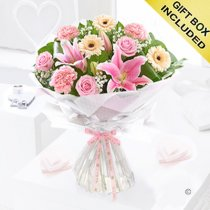 Mother's day with love hand-tied Code: JGFM4209MH  | Local delivery or collect From shop only
