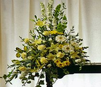 Church Pedestal / Altar Arrangement JGF204FG
