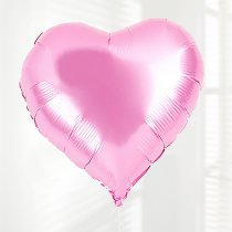 Pink Heart Fun Helium Balloon Code: JGFPHB112PHB