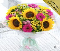 Large Sunflower Hand-tied  Code: H60432MS