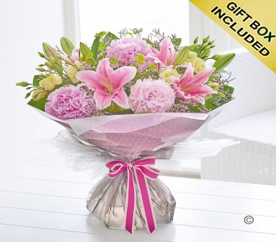 Peony and Lily Hand-tied Code: H63541MS