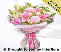 Large Pink Summer Hand-tied Code: H60782PS