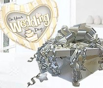 On your Wedding Day Balloon in Box Silver Code:JGF98OYWDBB