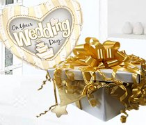 On your Wedding Day Balloon in Box Gold Code:JGF88GOYWDBB