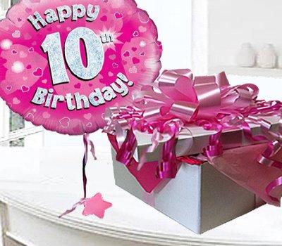 Happy 10th Birthday Balloon In A Box CodeJGF10H10BBB