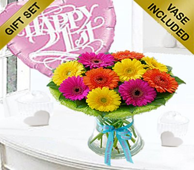 21st Birthday Germini Perfect Gift With A Fun Happy