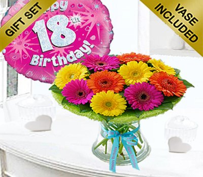 18th Birthday Germini Perfect Gift With A Fun Happy Day Balloon Code JGF1818GPGB