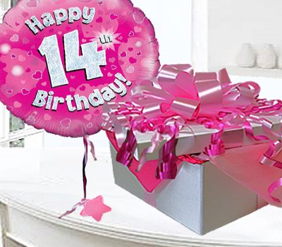 Image result for happy 14th birthday pink