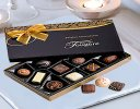 Single Yellow Rose Luxury Chocolate Gift Set Code: C09761YSC  ( Local Delivery Only )