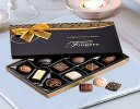 Single Orange Rose Luxury Chocolate Gift Set Code: JGFC09761OSC  ( Local Delivery Only )