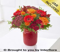 Autumn Sunset Vase Code: A72641MS
