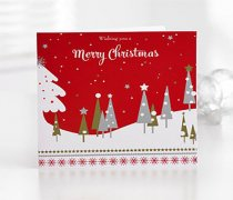 Christmas Greetings Card Code: X81691ZF