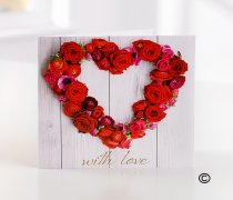With Love Greetings Card   Code C05711ZF