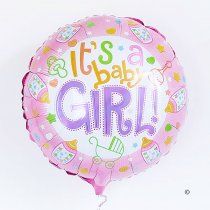 Baby Girl Balloon Code: JGFB2361BG | Local delivery or collect from shop only