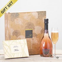 Sparkling Rosé Wine and Chocolates Gift Set  Code: C01610ZS