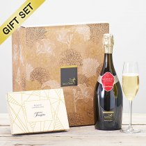 Gosset Brut Champagne and Luxury Belgian Chocolate Gift Set Code: C14701ZS| National and Local Delivery