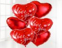 I Love You Balloon Bouquet Code: C02401ZF