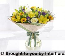 Large Spring Sunshine Hand-tied Code: S30622MS