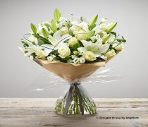 Extra Large White Hand-tied Code: C00313WS