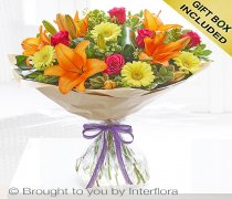 Large Summer Sunshine Hand-tied Code: H61622VS | National and Local Delivery