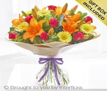 Extra Large Summer Sunshine Hand-tied Code: H61623VS | National and Local Delivery