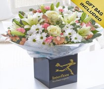 Extra Large Winter Frost Hand-tied Code: X80133MS