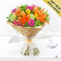 Vibrant Hand-Tied Code: JGF20381VH | Local Delivery Only