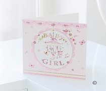 Baby Girl Greetings Card Code: C07821ZF  (Local Delivery Only)
