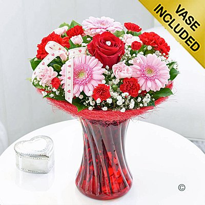 Valentine Flower Perfect Gift Code: V40051MS