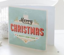 Cool Yule Bauble Greetings Card Code: X82641ZF