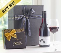 Red Wine & Milk Chocolate Truffle Gift Set Code: JGFG83512RT