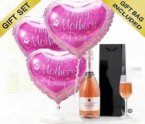 Mother's Day Celebration Sparkling Rosé Wine Balloon Gift Set Code: JGFM50241ZS