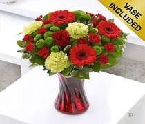 Colour Your Day with Love Vase Code: I15061RS
