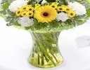 Cheerful Sunshine Vase Code: JGF8089YW  | Local Delivery Or Collect From Shop Only