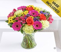 Large Colour Your Day Joy Vase Code: I151022VS