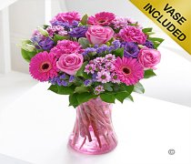 Large Colour Your Day Happiness Vase Code: I15052PS
