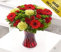 Large Colour Your Day Love Vase Code: I15062RS