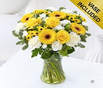 Large Colour Your Day Friendship Vase Code: I15082YS