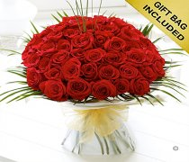Unforgettable 50 Rose Hand-tied  Code: C00471RS