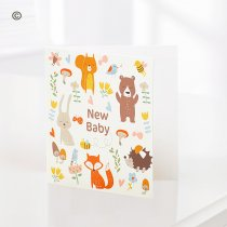 New Baby Greetings Card Code: C08461ZF