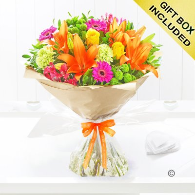 Get Well Vibrant Hand-tied Code: C09510VS